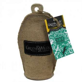 G&W Crinkler Eco Dog Toy
